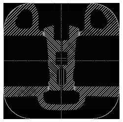 Задвижка 30лс15нж двухдисковый клин